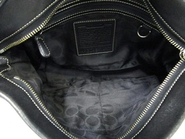 COACH(コーチ) ハンドバッグ - 1417 黒 レザー 5