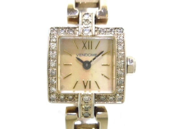 VENDOME(ヴァンドーム青山) 腕時計 - レディース ベージュ
