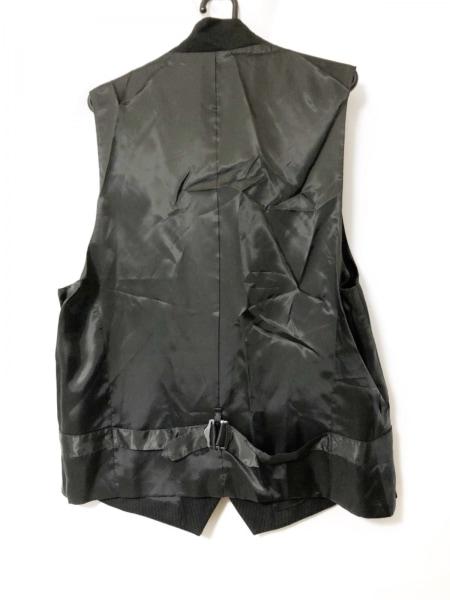 メンズティノラス シングルスーツ サイズLL メンズ 黒 ストライプ/3点セット