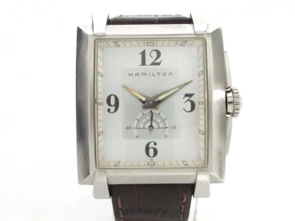 HAMILTON(ハミルトン) 腕時計 トレント H304110 メンズ シルバー