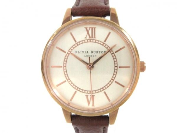 Olivia Burton(オリビアバートン) 腕時計美品  - レディース シルバー