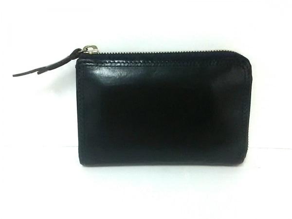 CORBO(コルボ) 2つ折り財布 スレート 8LC-9954 黒 L字ファスナー レザー
