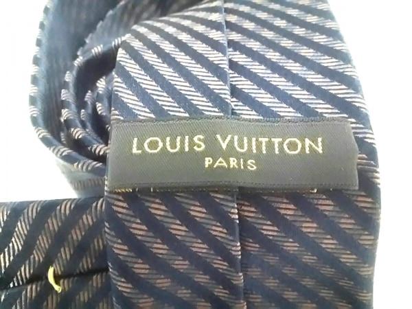 LOUIS VUITTON(ルイヴィトン) ネクタイ メンズ美品  ブラウン×黒 チェック柄