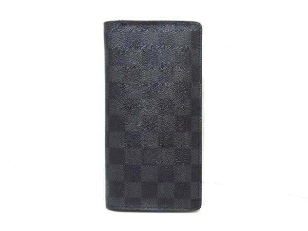 low priced d1403 c75fd ルイヴィトン 長財布 ダミエグラフィット ポルトフォイユ・ブラザ N62665