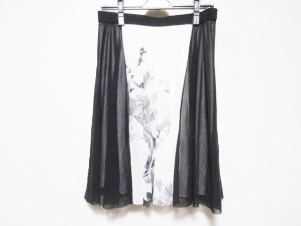 VIVIENNE TAM(ヴィヴィアンタム) スカート サイズ2 S レディース 黒×白