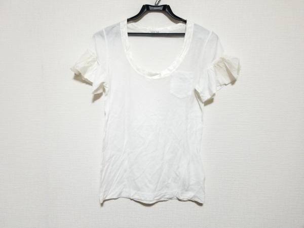 sacai luck(サカイラック) 半袖Tシャツ サイズ1 S レディース美品  白