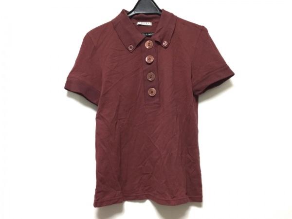 ADORE(アドーア) 半袖ポロシャツ サイズ38 M レディース パープル