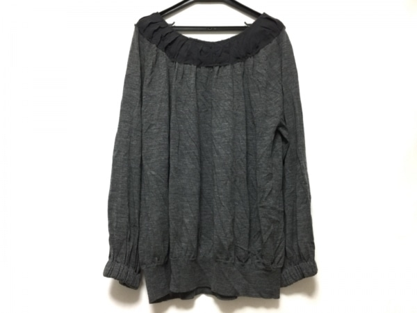 ADORE(アドーア) 長袖セーター サイズ38 M レディース グレー