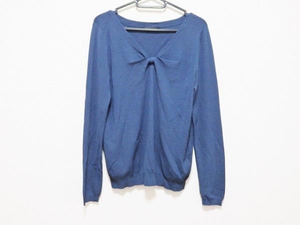 ANTEPRIMA(アンテプリマ) 長袖セーター サイズ44 L レディース ネイビー