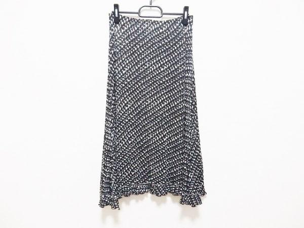 Max Mara(マックスマーラ) スカート サイズ42 M レディース 黒×白