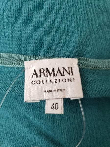 アルマーニコレッツォーニ 長袖セーター サイズ40 M レディース グリーン ニット