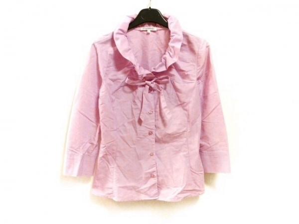 ナラカミーチェ 七分袖シャツブラウス サイズ1 S レディース美品  ピンク