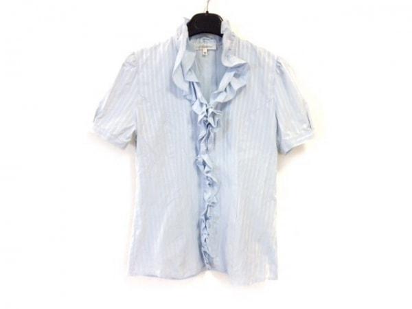 ナラカミーチェ 半袖シャツブラウス サイズM0 レディース美品  ライトブルー