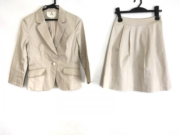 ef-de(エフデ) スカートスーツ サイズ7 S レディース美品  ベージュ