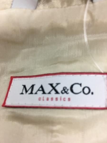 マックス&コー レディースパンツスーツ サイズ42 M レディース アイボリー シルク