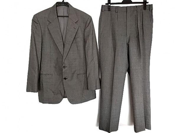 Burberry's(バーバリーズ) シングルスーツ メンズ美品  ダークグレー×グレー