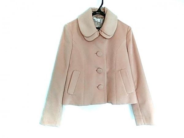 L'EST ROSE(レストローズ) コート サイズ2 M レディース美品  ピンク 冬物/AMIE