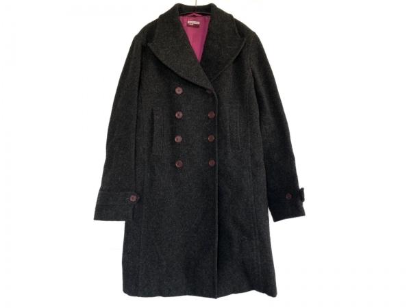 ポールスミスジーンズ コート サイズ40 L レディース ダークグレー 冬物