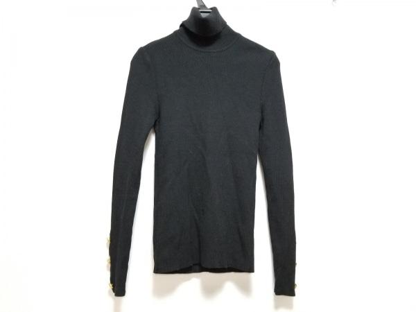 LOEWE(ロエベ) 長袖セーター サイズS レディース 黒 タートルネック
