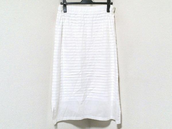 HaaT HeaRT(ハート) スカート サイズMD レディース アイボリー サンプル品