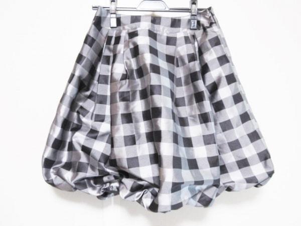 Annette(アネット) バルーンスカート サイズS レディース 黒×ライトグレー×グレー