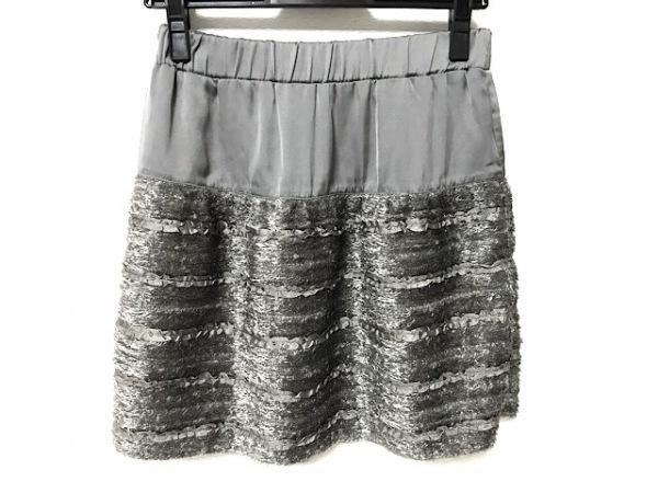 Apuweiser-riche(アプワイザーリッシェ) スカート サイズ2 M レディース美品  グレー