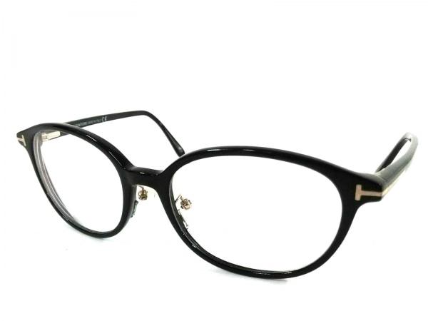 TOM FORD(トムフォード) メガネ TF5391 黒×クリア 度入り プラスチック