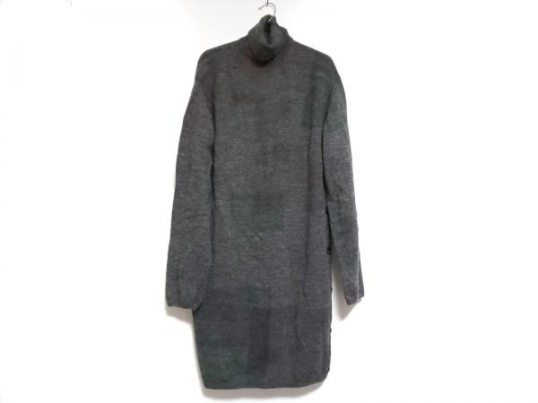 yohjiyamamoto(ヨウジヤマモト) 長袖セーター サイズ3 L メンズ グレー×マルチ