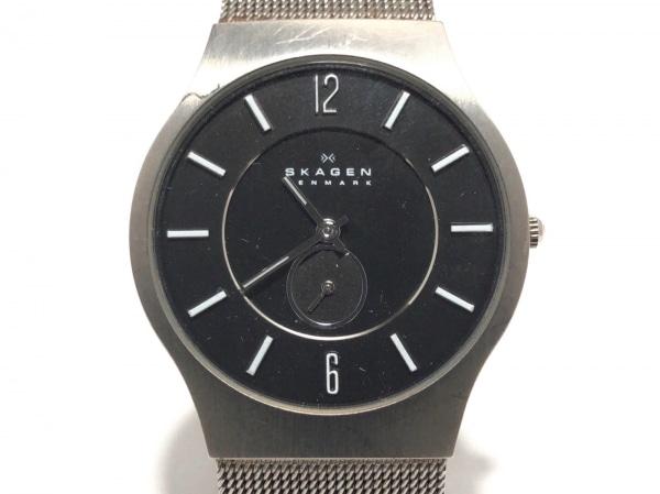 SKAGEN(スカーゲン) 腕時計美品  J233LTTM メンズ グレー