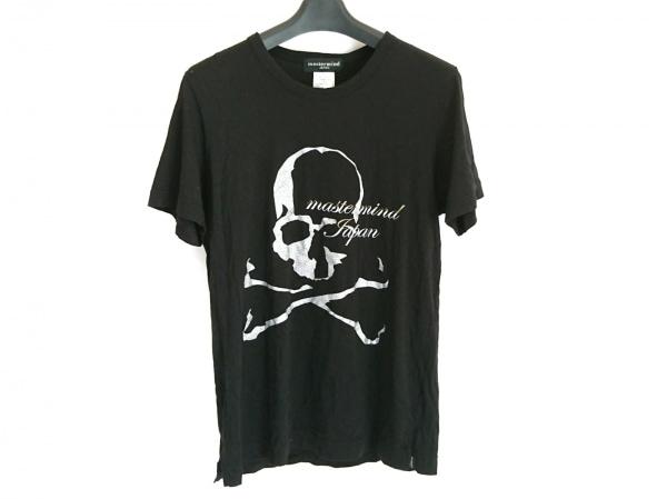 マスターマインド 半袖Tシャツ サイズM レディース 黒×シルバー×ライトグレー