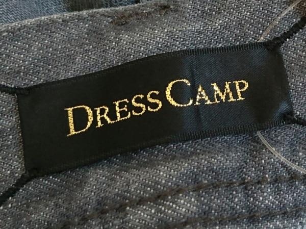 DRESS CAMP(ドレスキャンプ) ジーンズ サイズ44 L レディース グレー×ゴールド