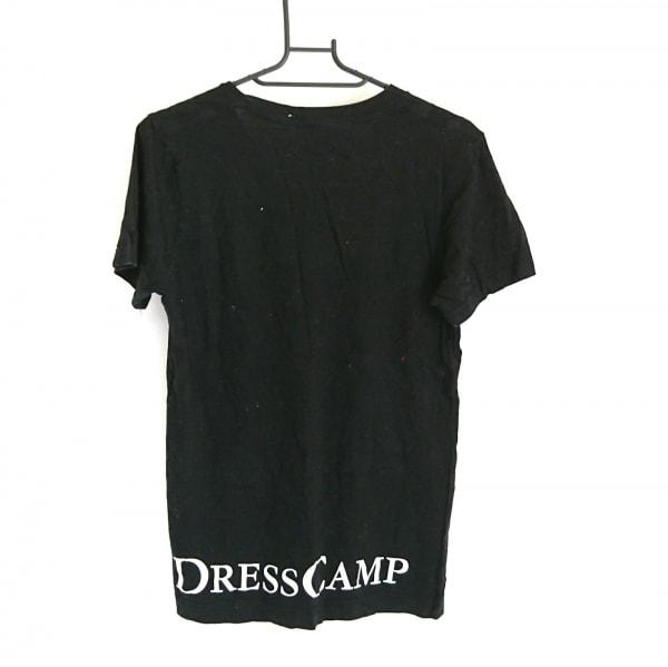 DRESS CAMP(ドレスキャンプ) 半袖カットソー サイズ46 XL レディース 黒×白