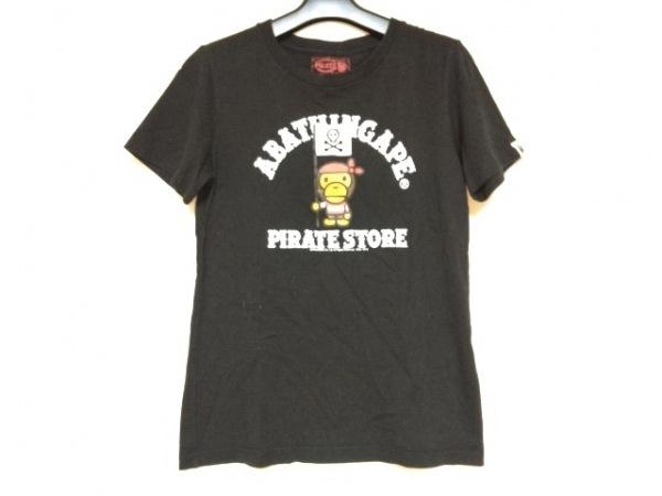 A BATHING APE(ア ベイシング エイプ) 半袖Tシャツ サイズXS レディース 黒