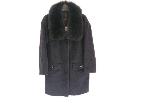 LEJOUR(ルジュール) コート サイズ38 M レディース美品  ダークネイビー 冬物