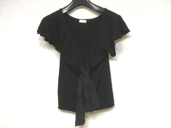 VALENTINO ROMA(バレンチノローマ) 半袖カットソー レディース美品  黒