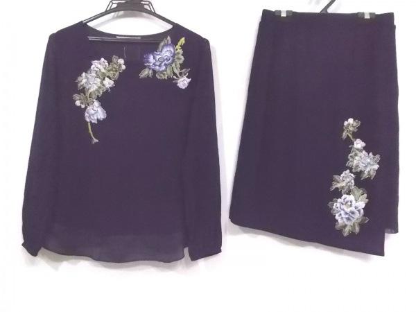 ヴィヴィアンタム スカートセットアップ サイズ0 XS レディース美品  フラワー/刺繍
