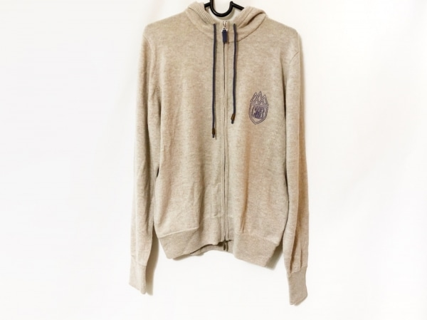 blancvert(ブランベール) 長袖セーター サイズ40 M レディース ライトベージュ
