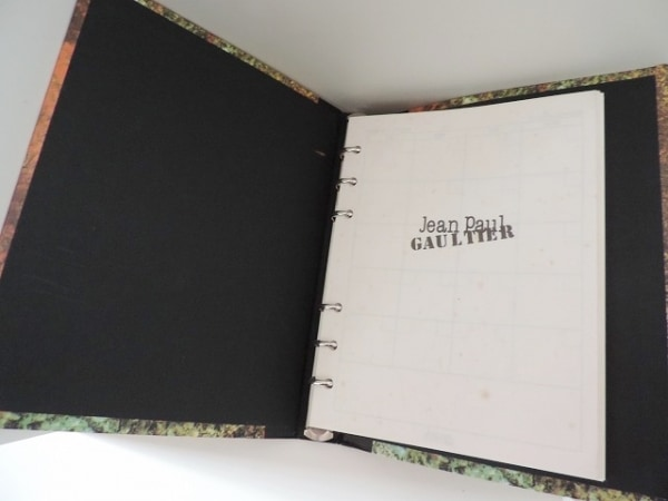 JeanPaulGAULTIER(ゴルチエ) 手帳美品  黒×ライトグリーン×マルチ ダイアリー 紙