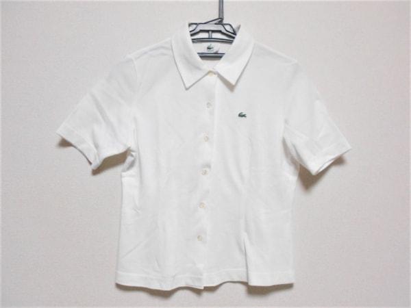 Lacoste(ラコステ) 半袖シャツブラウス サイズ40 M レディース 白