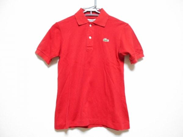 Lacoste(ラコステ) 半袖ポロシャツ レディース レッド