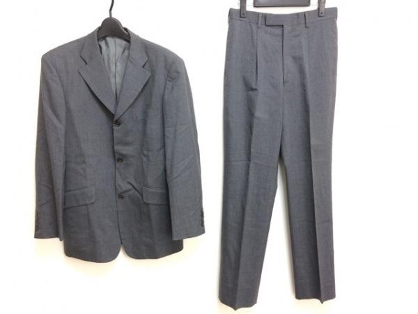 ABAHOUSE(アバハウス) シングルスーツ サイズ2 M メンズ グレー シングル