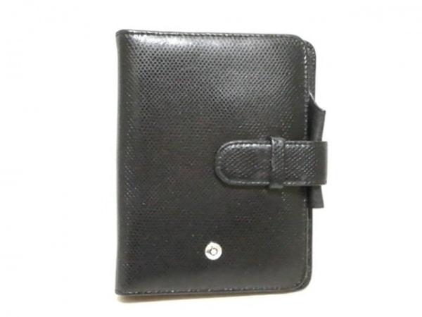 MONTBLANC(モンブラン) 手帳 黒 型押し加工 レザー