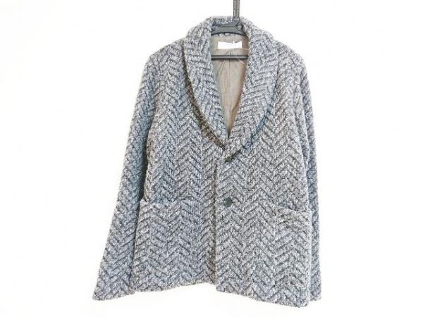Seagreen(シーグリーン) ジャケット メンズ - - グレー×黒 長袖/ヘリンボーン
