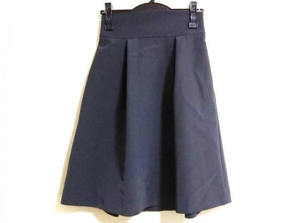 フォクシーニューヨーク スカート サイズ38 M レディース美品  ダークグレー