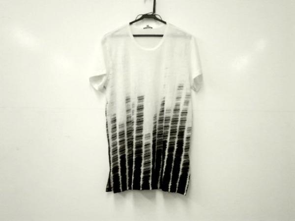 アンドゥムルメステール 半袖Tシャツ サイズs S メンズ美品  白×黒