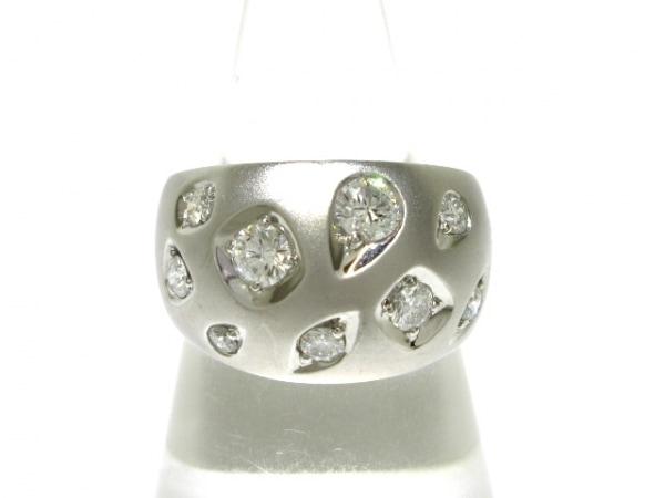 ROYAL ASSCHER(ロイヤルアッシャー) リング美品  Pt900×ダイヤモンド