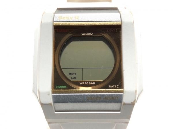 CASIO(カシオ) 腕時計美品  BG-810LV レディース ラバーベルト ゴールド