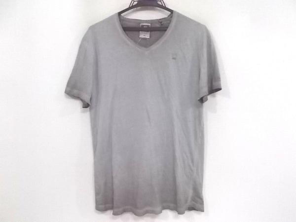 G-STAR RAW(ジースターロゥ) 半袖Tシャツ サイズS メンズ グレー グラデーション