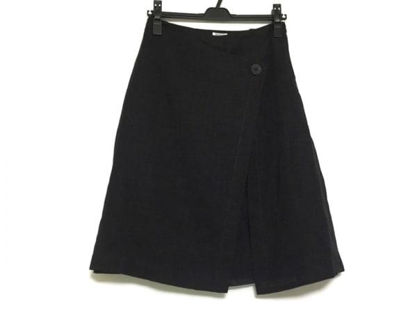 FOXEY(フォクシー) 巻きスカート サイズ40 M レディース美品  ダークグレー