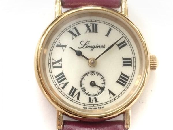 LONGINES(ロンジン) 腕時計 5231 レディース アイボリー